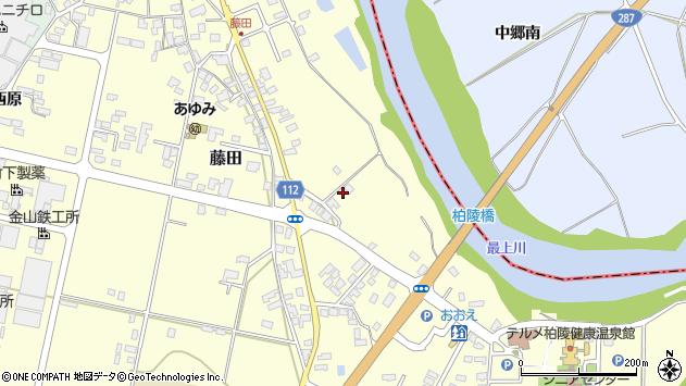 山形県西村山郡大江町藤田150周辺の地図