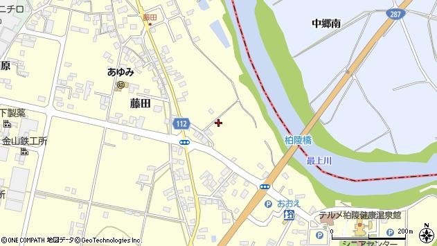 山形県西村山郡大江町藤田659周辺の地図