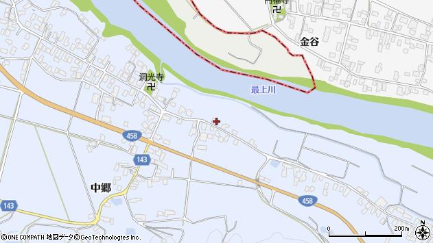 山形県寒河江市中郷2359周辺の地図