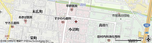 山形県寒河江市小沼町149周辺の地図