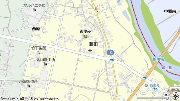 山形県西村山郡大江町藤田403周辺の地図