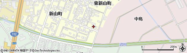 山形県寒河江市新山町62周辺の地図