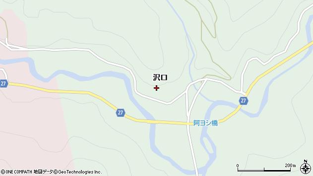 山形県西村山郡大江町沢口76周辺の地図