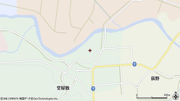 山形県西村山郡大江町堂屋敷70周辺の地図
