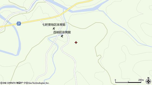 山形県西村山郡大江町貫見小清沢周辺の地図
