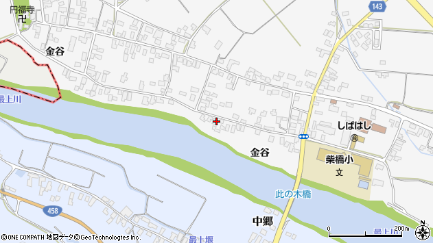 山形県寒河江市柴橋2683周辺の地図