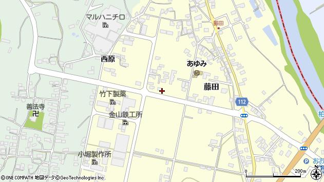 山形県西村山郡大江町藤田455周辺の地図