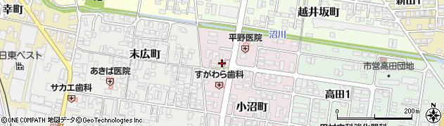 山形県寒河江市小沼町53周辺の地図