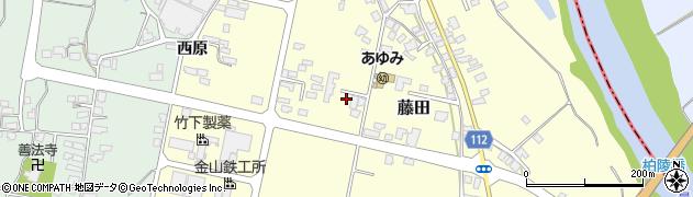山形県西村山郡大江町藤田410周辺の地図