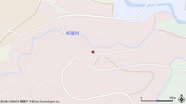 山形県西村山郡大江町塩野平83周辺の地図