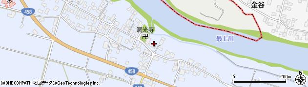 山形県寒河江市中郷574周辺の地図