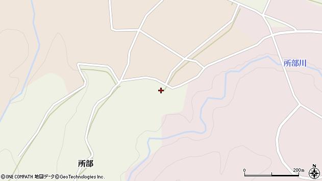 山形県西村山郡大江町所部316周辺の地図