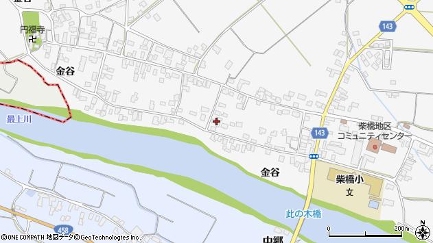 山形県寒河江市柴橋1881周辺の地図