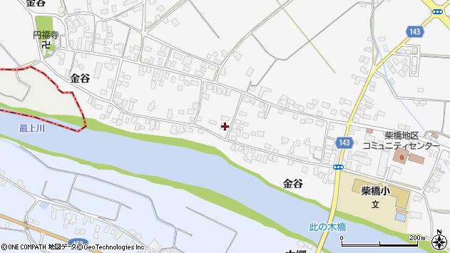山形県寒河江市柴橋1874周辺の地図