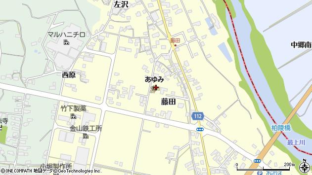 山形県西村山郡大江町藤田402周辺の地図