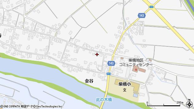 山形県寒河江市柴橋1855周辺の地図