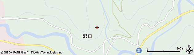 山形県西村山郡大江町沢口沢口周辺の地図