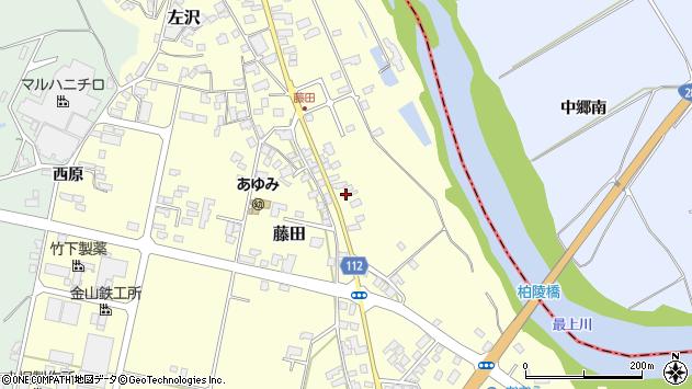 山形県西村山郡大江町藤田657周辺の地図