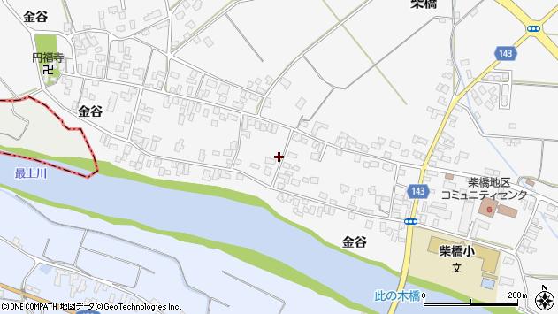山形県寒河江市柴橋1872周辺の地図