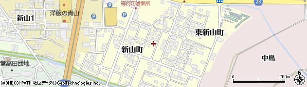 山形県寒河江市新山町56周辺の地図