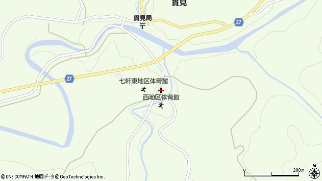 山形県西村山郡大江町貫見469周辺の地図