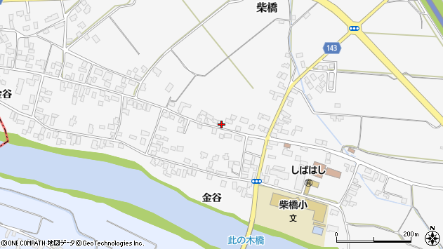 山形県寒河江市柴橋1658周辺の地図