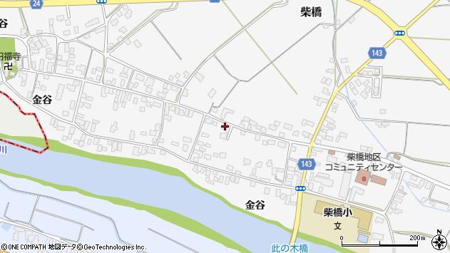 山形県寒河江市柴橋1862周辺の地図