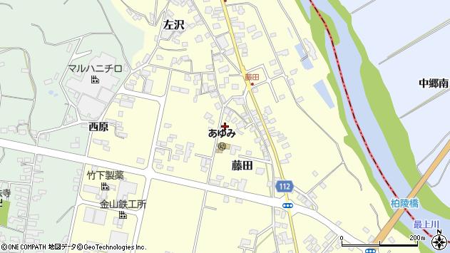 山形県西村山郡大江町藤田399周辺の地図
