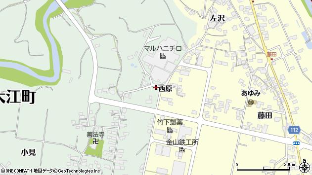 山形県西村山郡大江町小見60周辺の地図