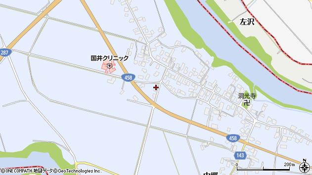 山形県寒河江市中郷1335周辺の地図