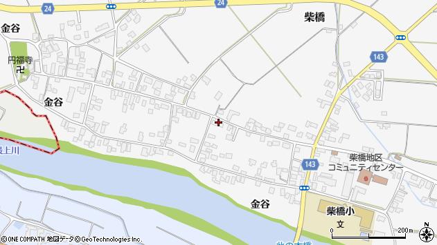 山形県寒河江市柴橋1864周辺の地図
