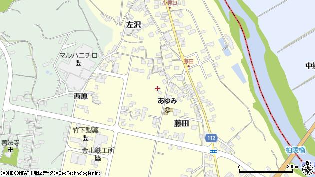 山形県西村山郡大江町藤田439周辺の地図