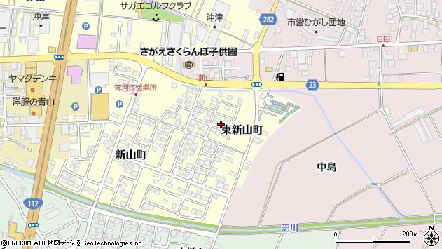 山形県寒河江市東新山町230周辺の地図