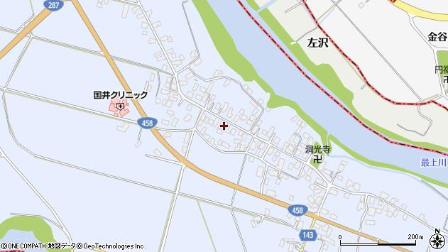 山形県寒河江市中郷1031周辺の地図