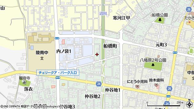 山形県寒河江市船橋町21周辺の地図