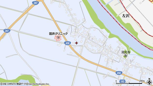 山形県寒河江市中郷1271周辺の地図