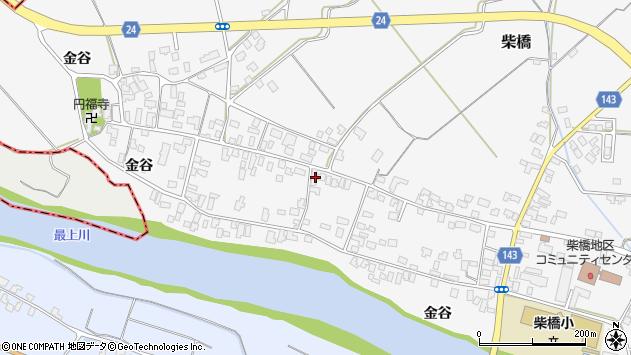 山形県寒河江市柴橋1870周辺の地図
