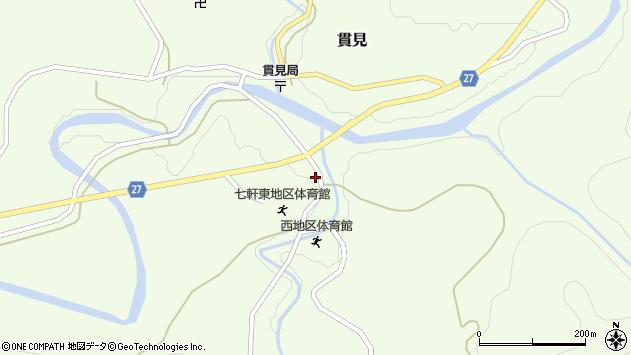 山形県西村山郡大江町貫見470周辺の地図