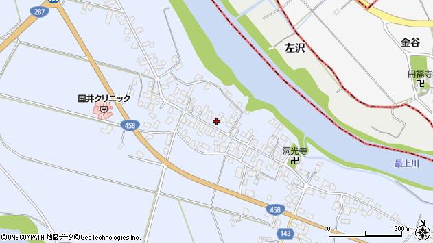 山形県寒河江市中郷927周辺の地図