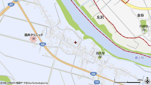 山形県寒河江市中郷926周辺の地図