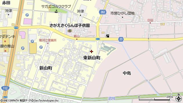 山形県寒河江市東新山町251周辺の地図