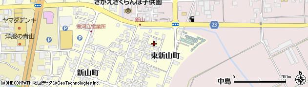 山形県寒河江市東新山町232周辺の地図