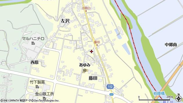 山形県西村山郡大江町藤田431周辺の地図