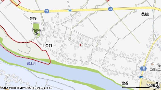 山形県寒河江市柴橋1615周辺の地図