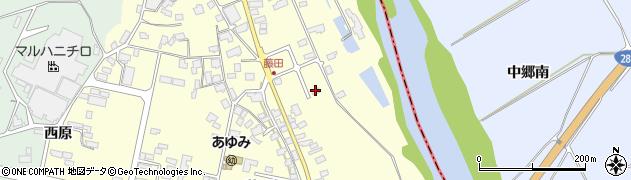 山形県西村山郡大江町藤田91周辺の地図