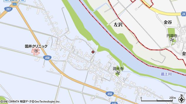 山形県寒河江市中郷915周辺の地図