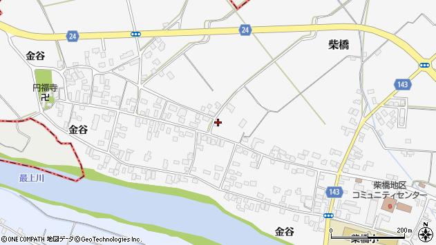 山形県寒河江市柴橋1819周辺の地図