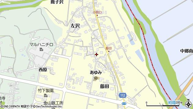 山形県西村山郡大江町藤田436周辺の地図