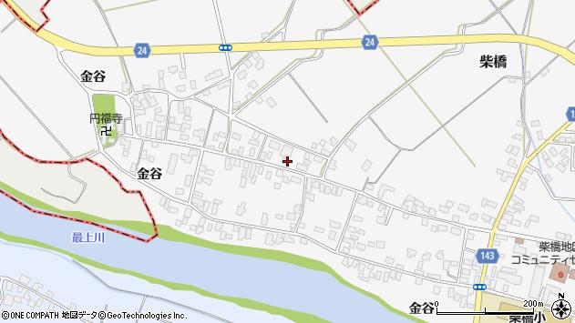 山形県寒河江市柴橋1678周辺の地図