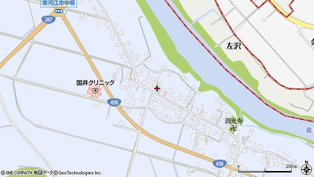 山形県寒河江市中郷946周辺の地図